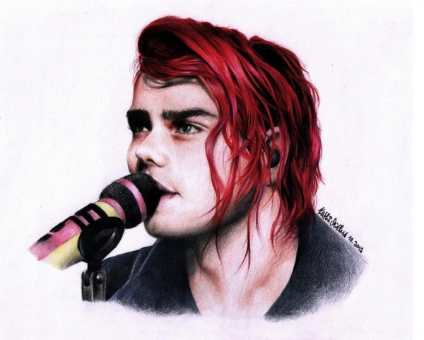 Gerard Way par Revolver
